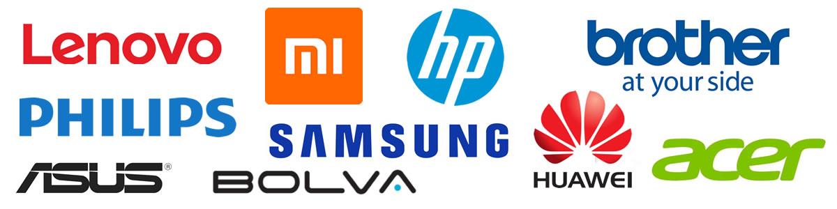 Loghi smartphone e notebook